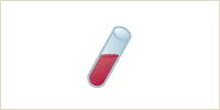 2.特殊なスピッツを用いて遠心分離し、凝縮された血小板のみを取り出します